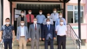 Ensar Vakıf Tunceli Şube Başkanının Tunceli Milli Eğitim Müdürü'nü ziyareti