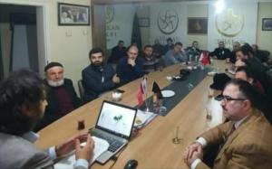 Munzur Üniversitesi akademisyeni Tahsin Hazırbulan'ın Sivas Nizam Derneğini ziyareti